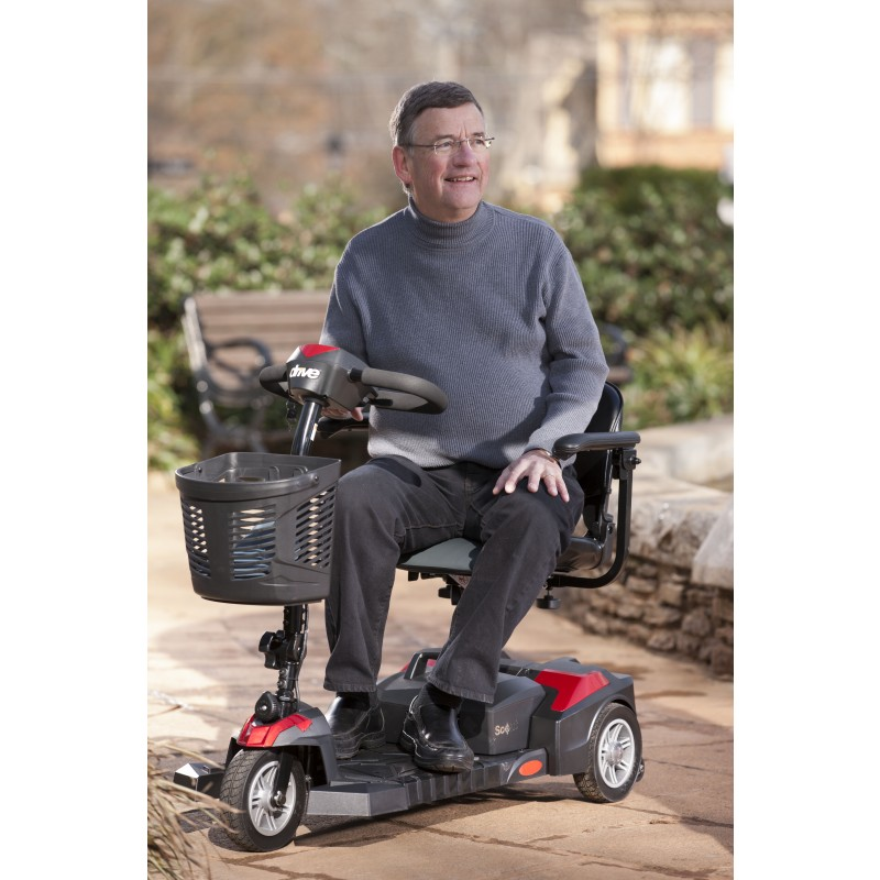 Scout 3 Wheel Mobility Scooter by Drive Medical - FREE
